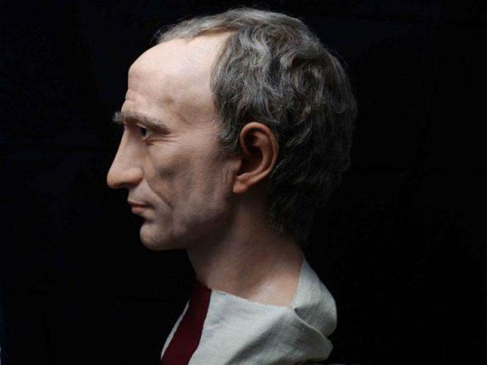 Скульптура Гая Юлия Цезаря.